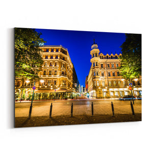 Helsinki Finland Architecture Canvas Art Print