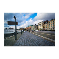 Stockholm Sweden Waterfront Art Print