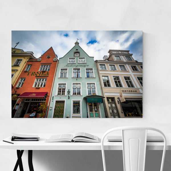 Tallinn Estonia Europe Old Town Art Print