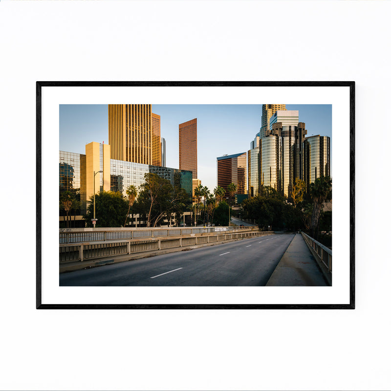 Downtown Los Angeles California Framed Art Print