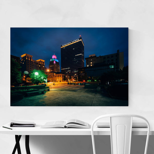 Winston-Salem, North Carolina Art Print