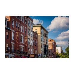 Boston North End Architecture Art Print