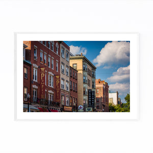 Boston North End Architecture Framed Art Print