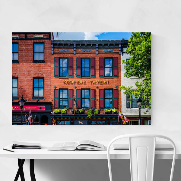 Thames Fells Point Baltimore Art Print