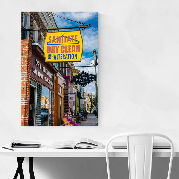 Hampden Baltimore Maryland Art Print