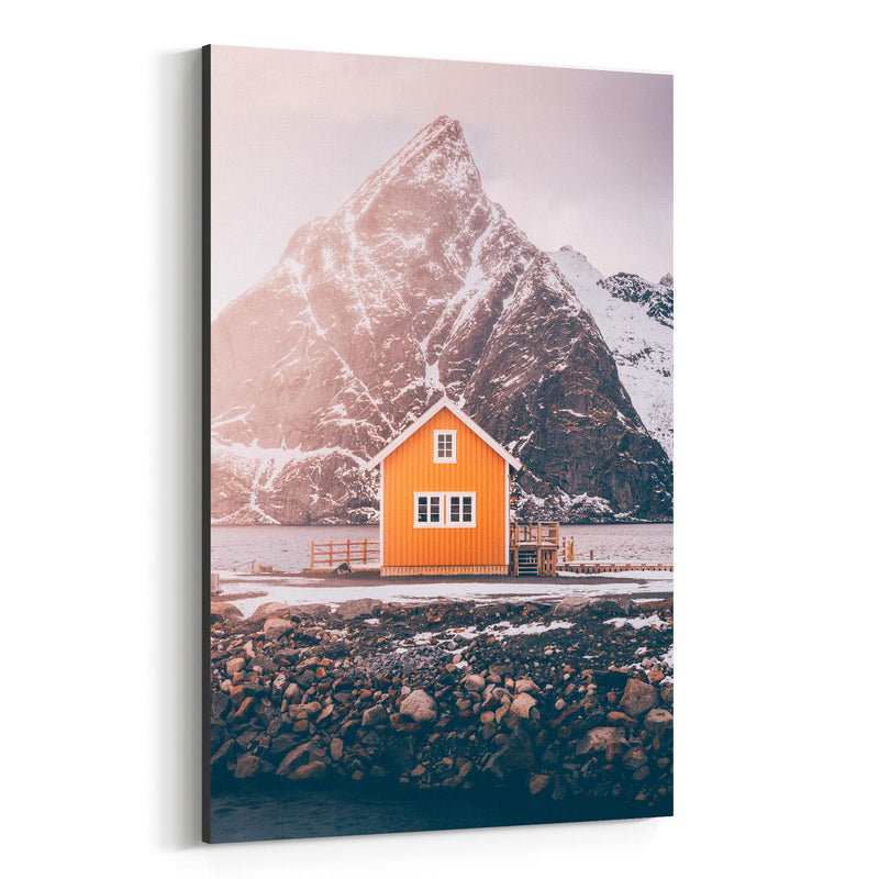 Lofoten Norway Nature Photo Canvas Art Print