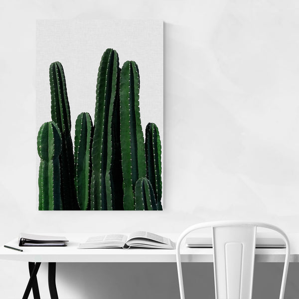 Cactus Desert Minimal Photo Art Print