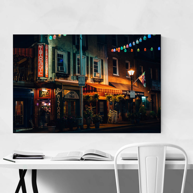 Little Italy Baltimore Maryland Art Print