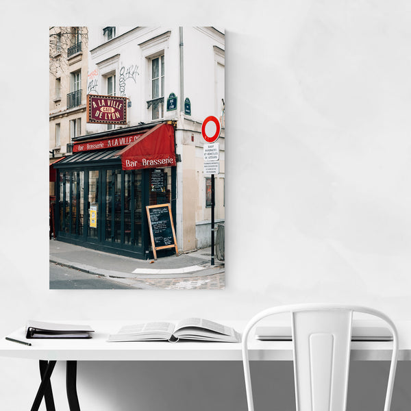 Cafe Bar Brasserie Paris France  Art Print