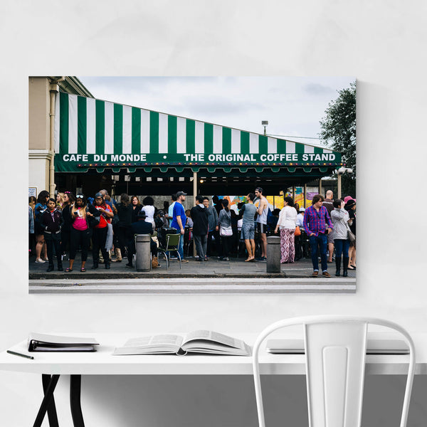 French Cafe in New Orleans Art Print