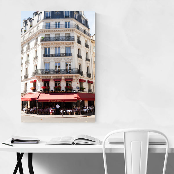 Paris France Cafe Photography Art Print