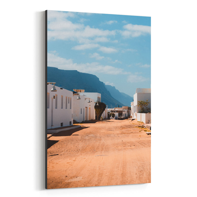 Lanzarote Canary Islands Houses Canvas Art Print