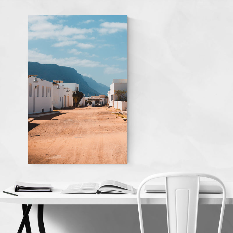 Lanzarote Canary Islands Houses Metal Art Print