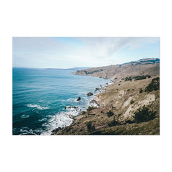 Pacific Coast Highway California Art Print