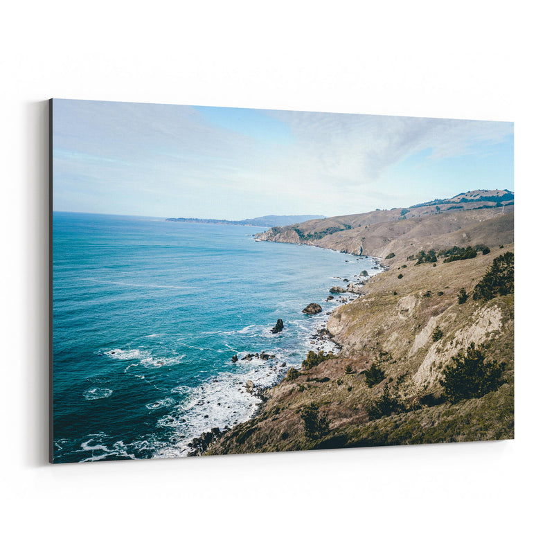 Pacific Coast Highway California Canvas Art Print