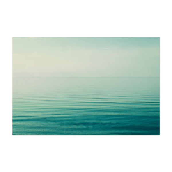 Calm Water Landscape Nature Art Print