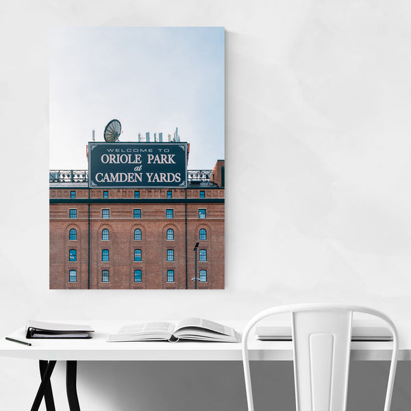 Camden Yards Orioles Baltimore Art Print