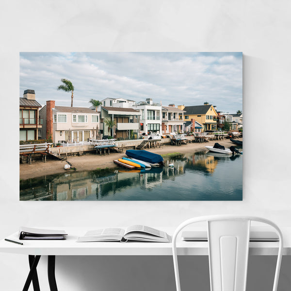 Newport Beach California Coastal Art Print
