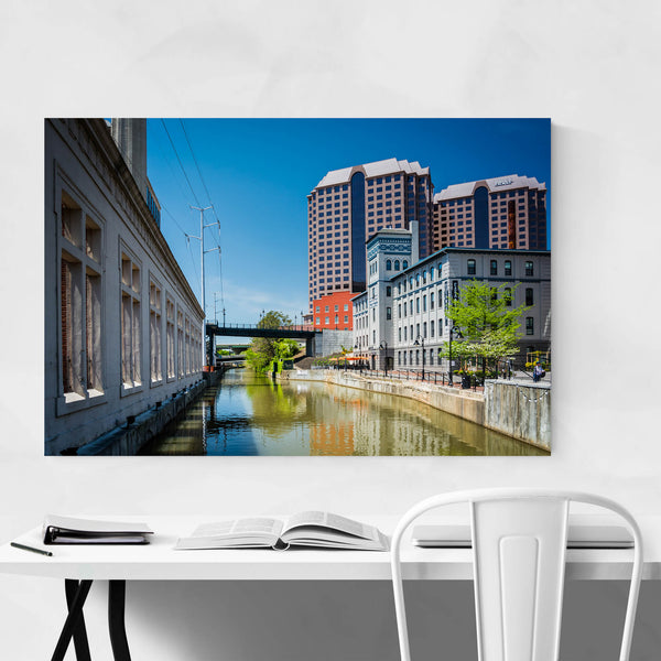 Virginia Downtown Richmond Art Print