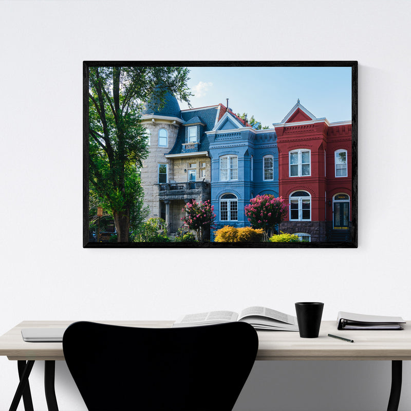 Washington DC Capitol Hill Photo Framed Art Print