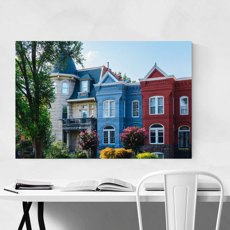 Washington DC Capitol Hill Photo Metal Art Print