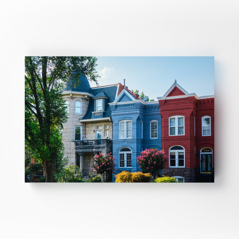 Washington DC Capitol Hill Photo Canvas Art Print