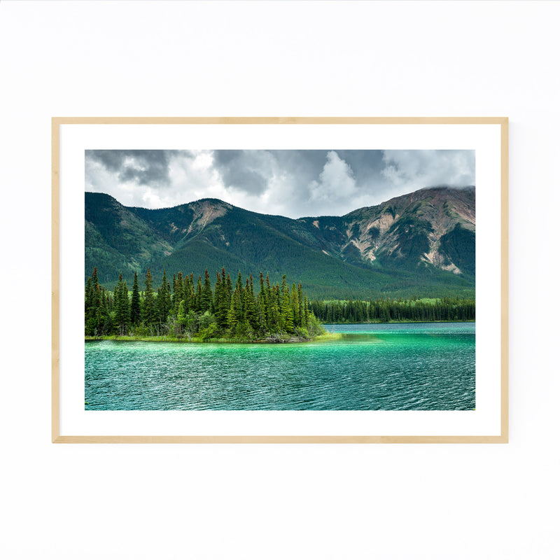 Boya Lake British Columbia  Framed Art Print