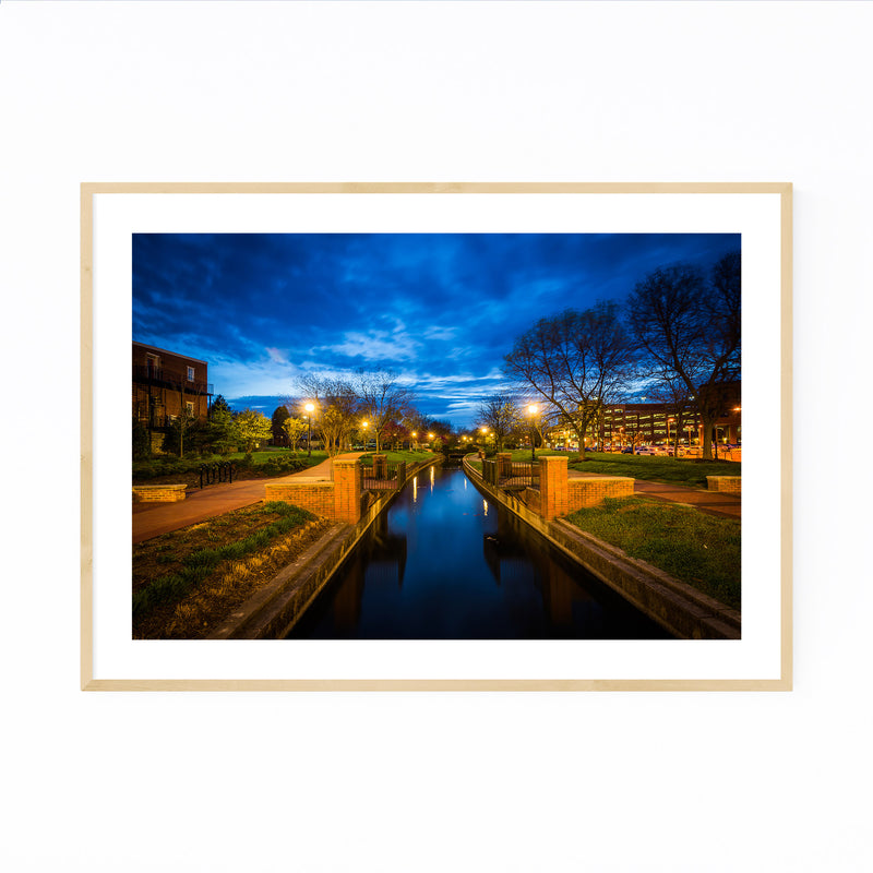 Downtown Frederick Maryland Framed Art Print