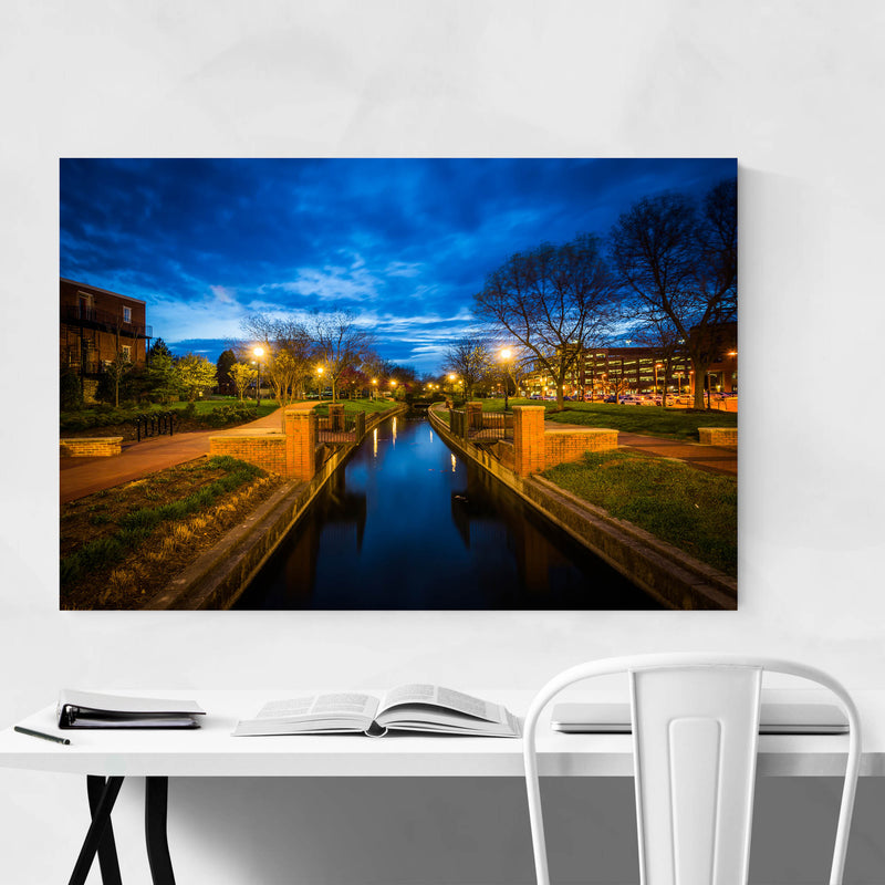 Downtown Frederick Maryland Art Print