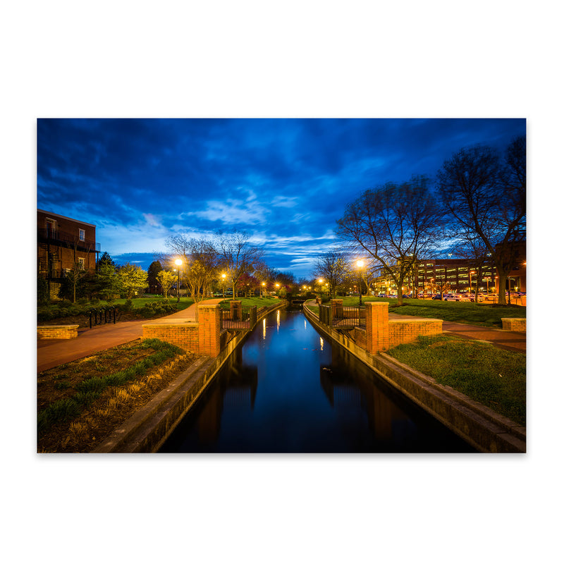 Downtown Frederick Maryland Metal Art Print