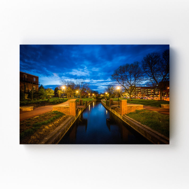 Downtown Frederick Maryland Mounted Art Print