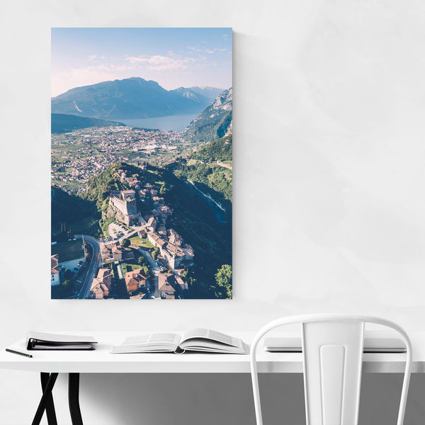 Tenno Castle Lake Garda Italy Art Print