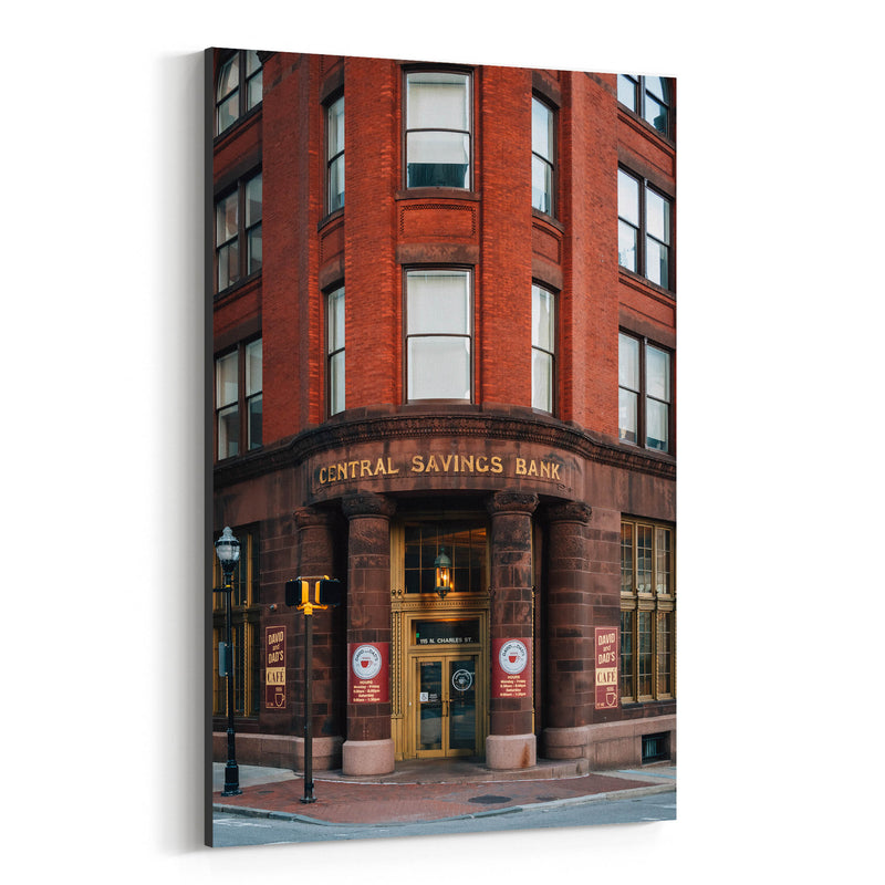 Baltimore, MD Architecture Canvas Art Print