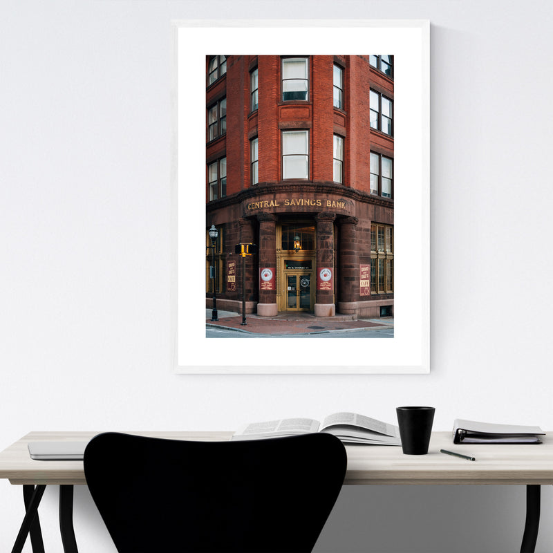 Baltimore, MD Architecture Framed Art Print