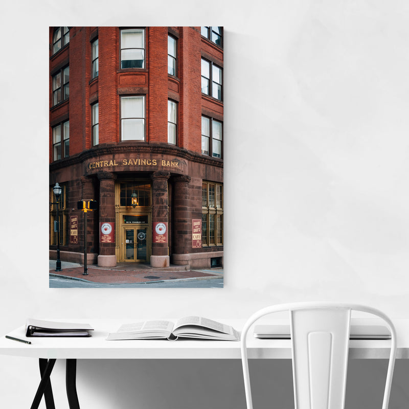 Baltimore, MD Architecture Metal Art Print