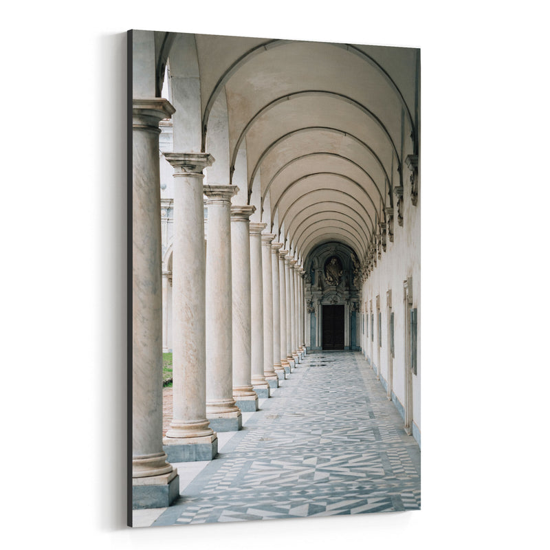 Naples Italy Architecture Canvas Art Print