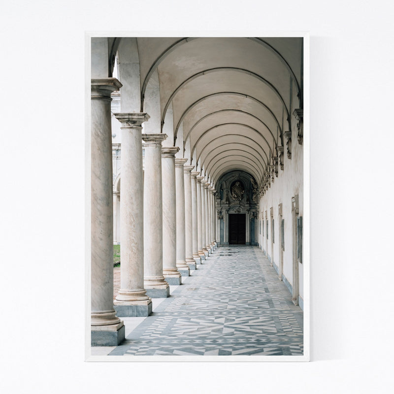 Naples Italy Architecture Framed Art Print