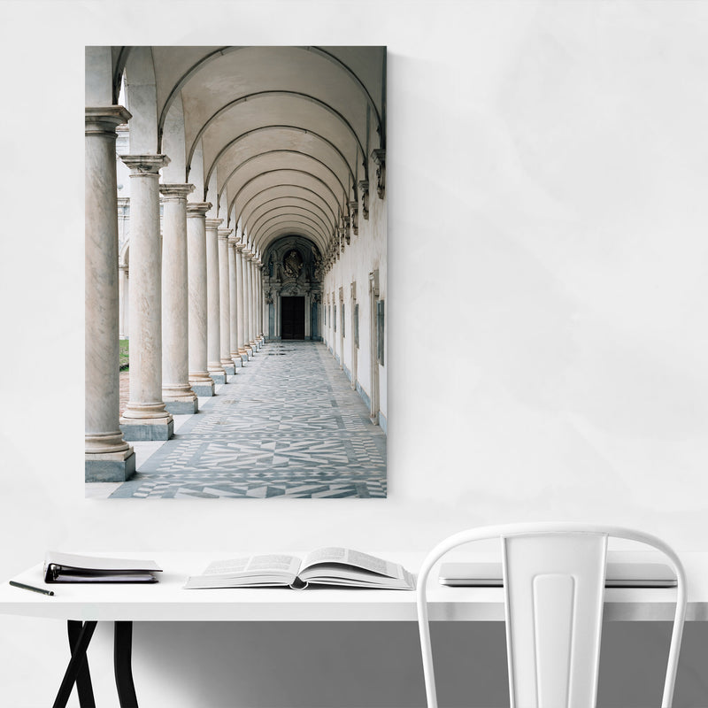 Naples Italy Architecture Metal Art Print