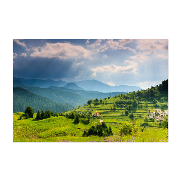 Bulgaria Mountains Landscape Art Print
