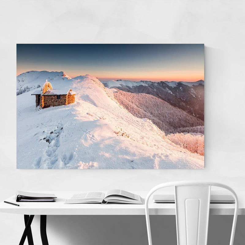 Bulgaria Mountains Nature Canvas Art Print