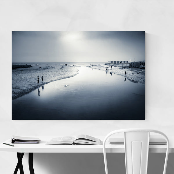 Charmouth River Dorset Photo Art Print
