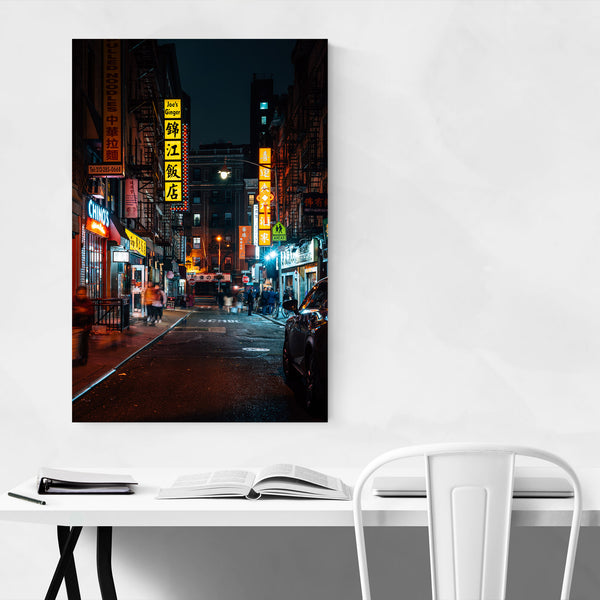 Chinatown Manhattan New York NYC Art Print