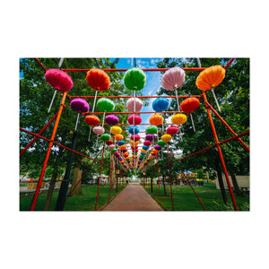 Philadelphia Chinese Lanterns Art Print