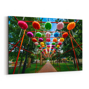 Philadelphia Chinese Lanterns Canvas Art Print