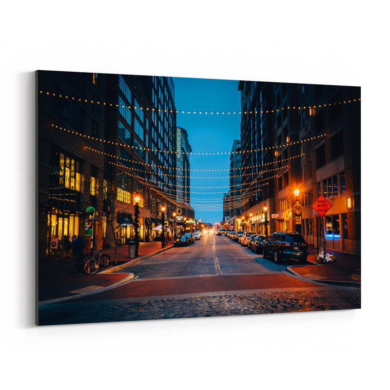 Harbor East Baltimore Maryland Canvas Art Print