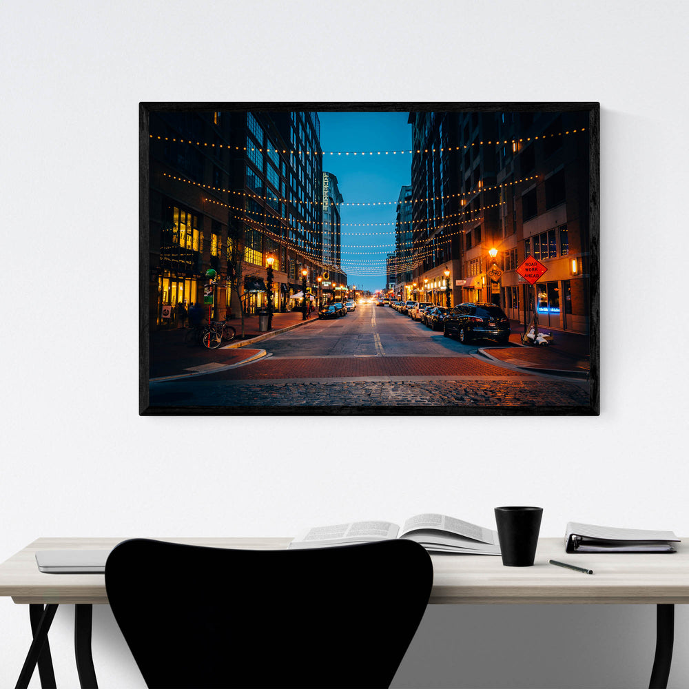 Harbor East Baltimore Maryland Framed Art Print