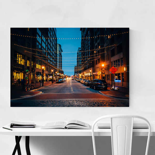 Harbor East Baltimore Maryland Art Print