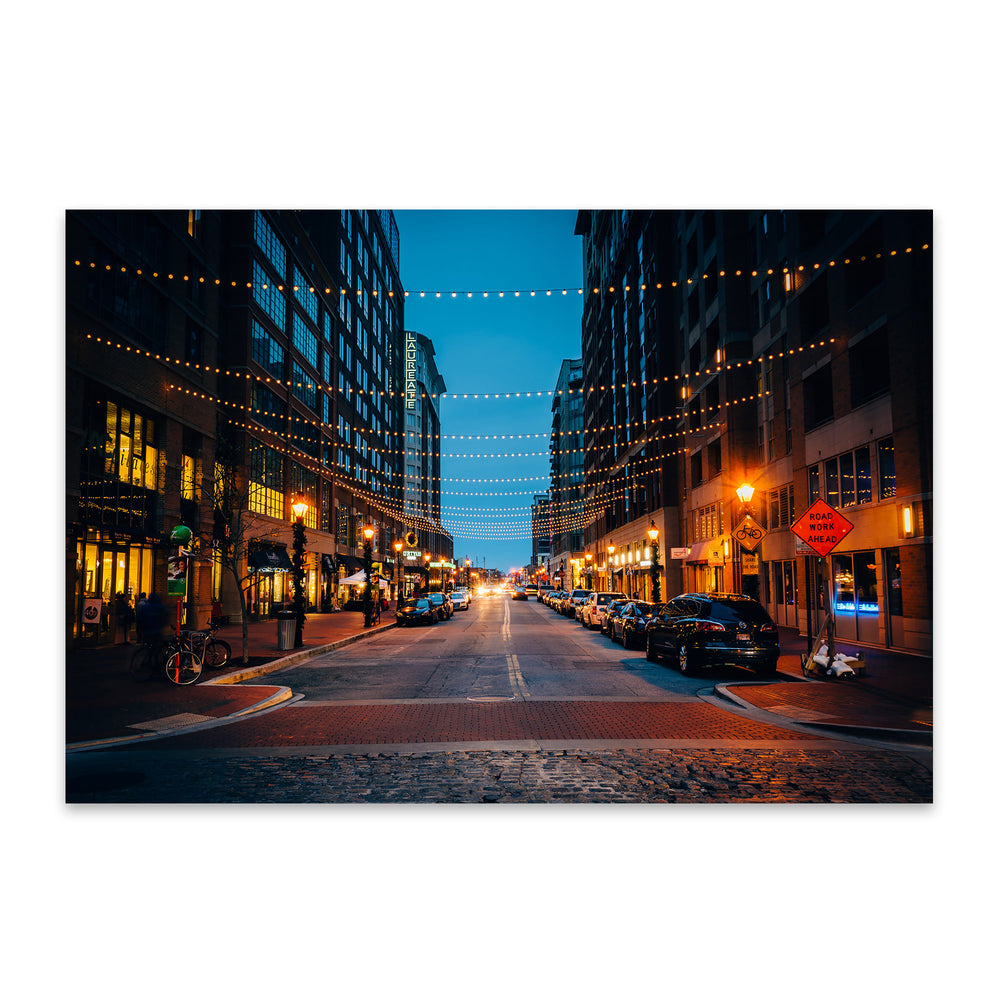 Harbor East Baltimore Maryland Metal Art Print