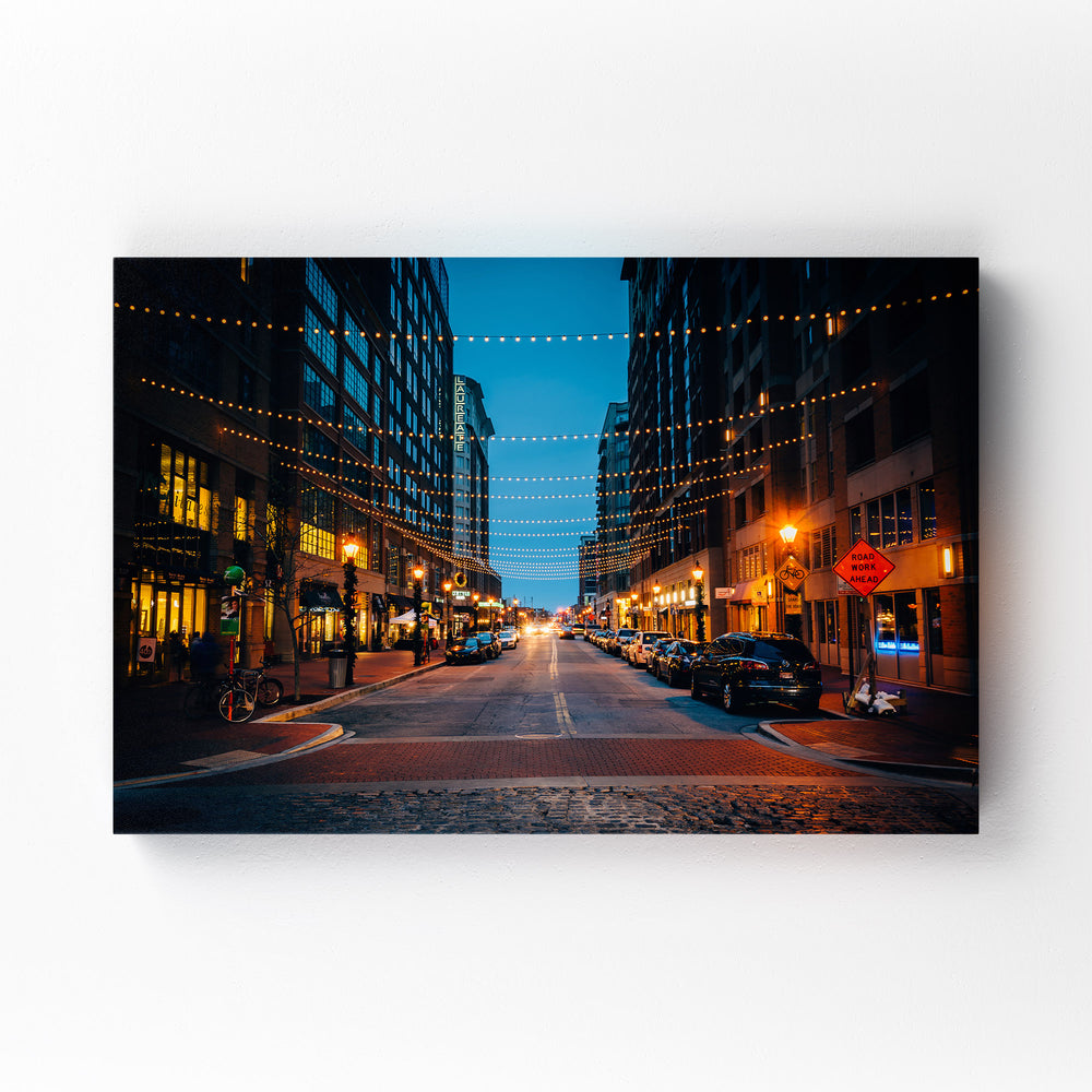 Harbor East Baltimore Maryland Mounted Art Print