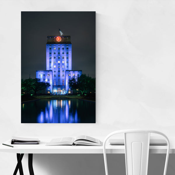 Houston Texas City Hall Photo Art Print